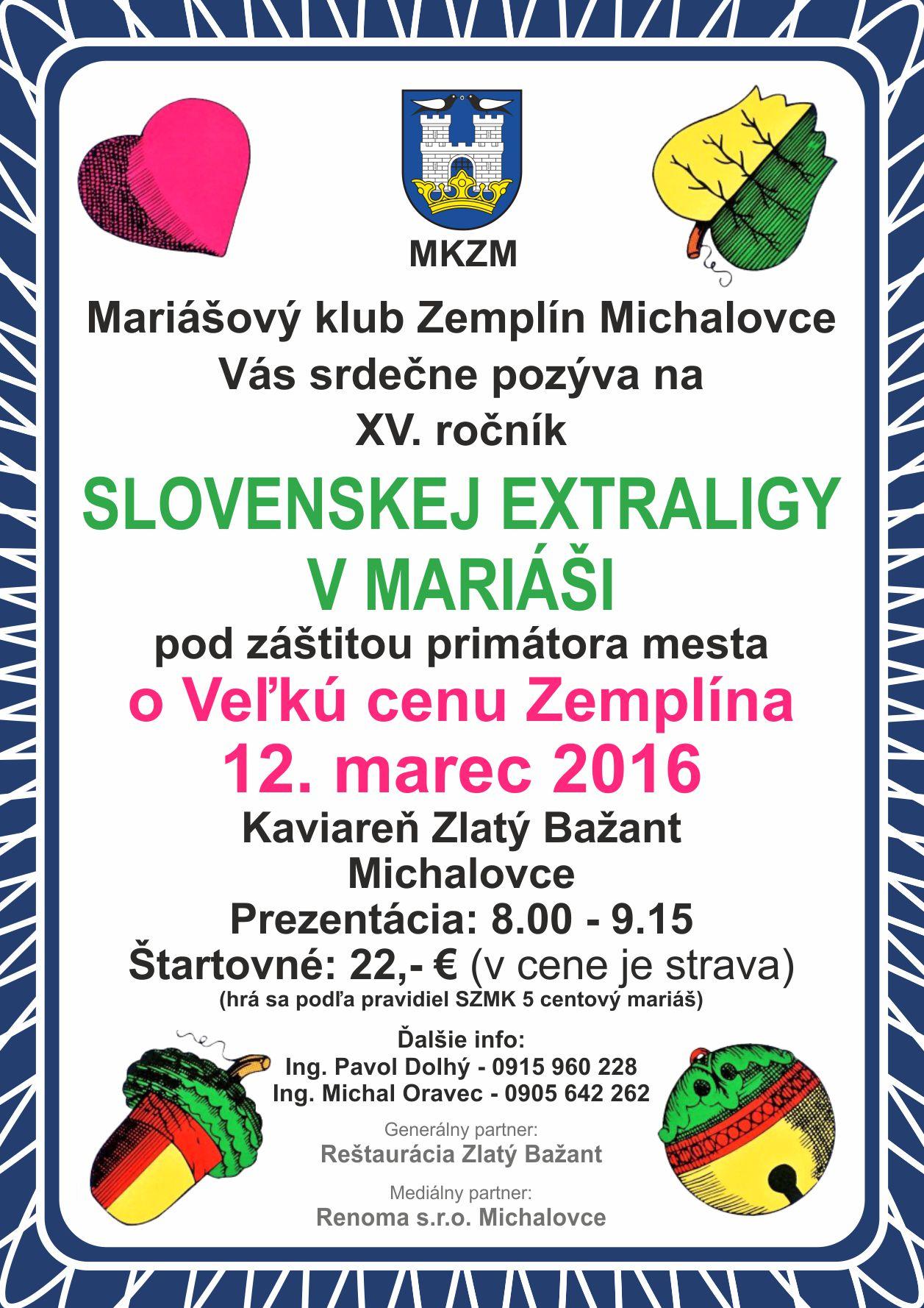 Pozvánka Michalovce